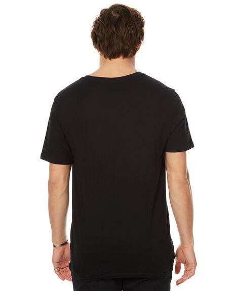 BLACK MENS CLOTHING RIP CURL TEES - CTECW20090