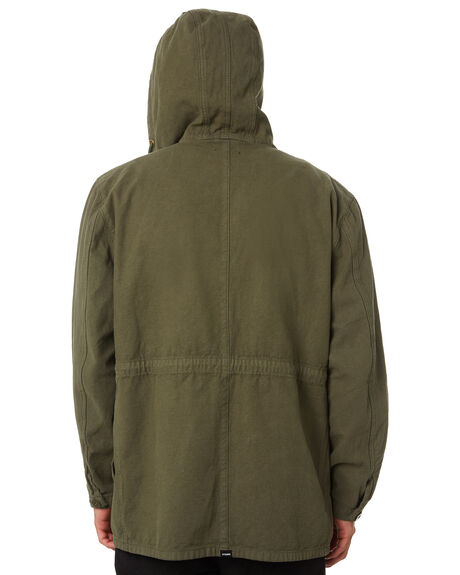 DARK OLIVE MENS CLOTHING THRILLS JACKETS - TA20-206FDKOLV