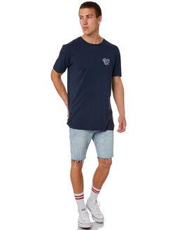 MIDNIGHT MENS CLOTHING ALOHA ZEN TEES - AZ945MIDNT