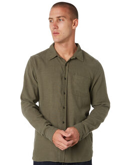 OLIVE MENS CLOTHING OUTERKNOWN SHIRTS - 1310112OLV