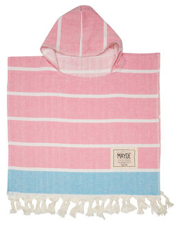 FUSCHIA TURQUOISE KIDS TODDLER GIRLS MAYDE TOWELS - 18SHELFTR