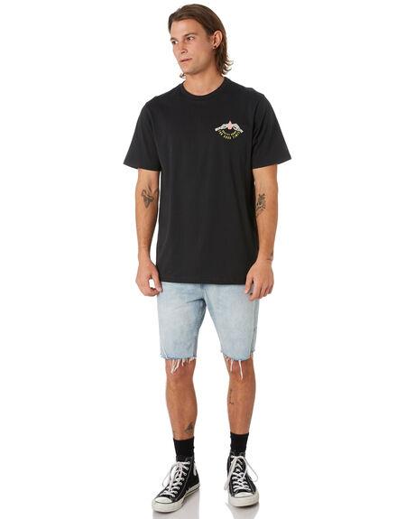 BLACK MENS CLOTHING VOLCOM TEES - A5001918BLK