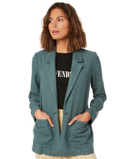 SILVER PINE WOMENS CLOTHING AFENDS JACKETS - W191581SPNE