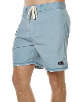 BLUE ACID MENS CLOTHING AFENDS BOARDSHORTS - 10-01-060BLU