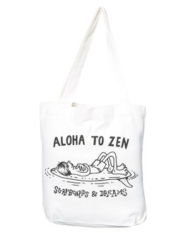 NATURAL MENS ACCESSORIES ALOHA ZEN BAGS - AZ-747NAT