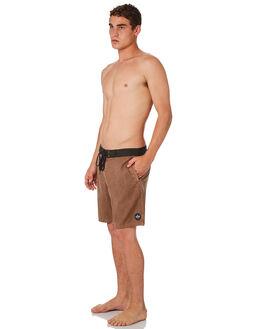 BONE BROWN MENS CLOTHING AFENDS BOARDSHORTS - M184306BNBRN