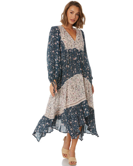 MULTI WOMENS CLOTHING TIGERLILY DRESSES - T611415NAT