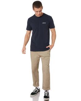 NAVY MENS CLOTHING STACEY TEES - STTEELOGONVY