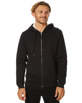 BLACK MENS CLOTHING SWELL JUMPERS - S5173446BLK