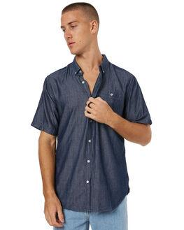 NAVY MENS CLOTHING EZEKIEL SHIRTS - ES171052NVY