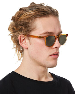 POLISHED BEIGE MENS ACCESSORIES LOCAL SUPPLY SUNGLASSES - CITYBEP2