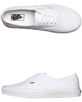 TRUE WHITE MENS FOOTWEAR VANS SKATE SHOES - SSVN-0EE3W00M