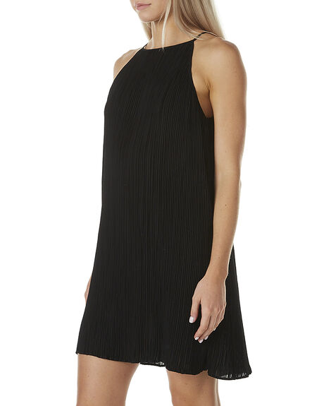 BLACK WOMENS CLOTHING MINKPINK DRESSES - MB1604450BLK