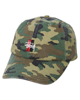 CAMO MENS ACCESSORIES STUSSY HEADWEAR - ST773004CAMO