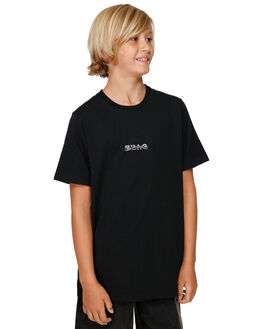 BLACK KIDS BOYS BILLABONG TOPS - BB-8591025-BLK