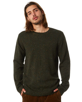 CAMO GREEN MENS CLOTHING DR DENIM KNITS + CARDIGANS - 1631154337