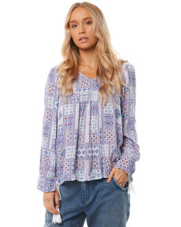 MOROCCAN TILE WOMENS CLOTHING O'NEILL FASHION TOPS - 4521205MRT