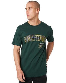 PYNE GREEN MENS CLOTHING LOWER TEES - LO19Q3MTS12PYGRN