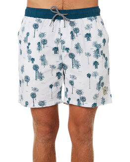 WHITE INDIGO MENS CLOTHING IMPERIAL MOTION BOARDSHORTS - 201901007026WHIND