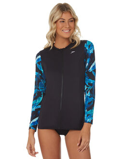 WINDS BLACK BOARDSPORTS SURF SPEEDO WOMENS - 7722E-7202WNDBK