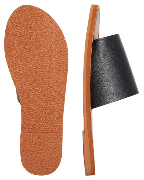 BLACK WOMENS FOOTWEAR ROXY FASHION SANDALS - ARJL200654BLK