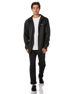 BLACK MENS CLOTHING RPM JACKETS - 9AMT21ABLK