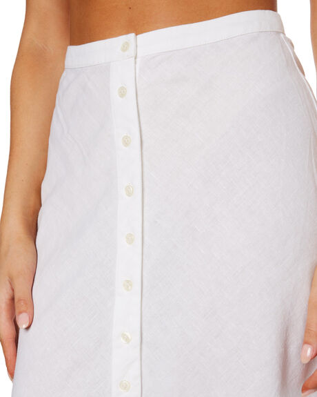 WHITE WOMENS CLOTHING NUDE LUCY SKIRTS - NU24123WHT