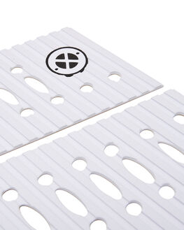 WHITE BOARDSPORTS SURF DREDED TAILPADS - DREMACROFRWHT