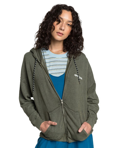 DEEP DEPTHS WOMENS CLOTHING QUIKSILVER JUMPERS - EQWFT03017-CZC0