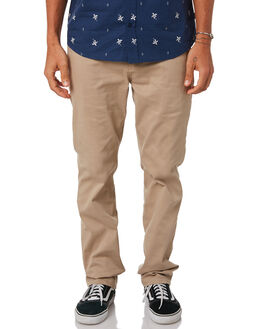 KHAKI MENS CLOTHING HURLEY PANTS - AO1747235