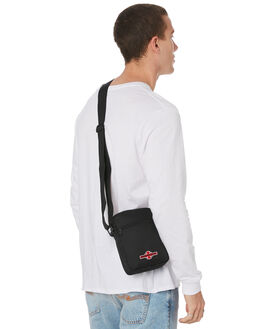 BLACK MENS ACCESSORIES INDEPENDENT BAGS + BACKPACKS - IN-MAA9289BLACK