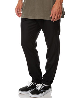 BLACK MENS CLOTHING ASSEMBLY PANTS - AM-W1781BLK