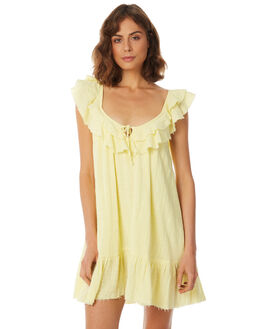 LEMON WOMENS CLOTHING RUE STIIC DRESSES - SA18-13-L-Y-LEM