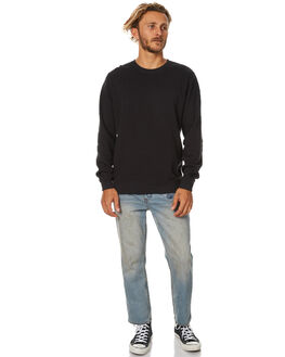 BLACK MENS CLOTHING SWELL JUMPERS - S5173451BLK