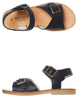 NAVY KIDS GIRLS WALNUT FOOTWEAR - RYDERNAVY