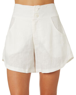 IVORY WOMENS CLOTHING LILYA SHORTS - LSH16-LAW19IVO