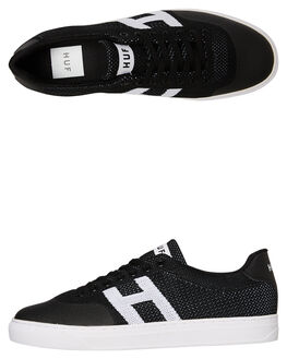 BLACK MENS FOOTWEAR HUF SNEAKERS - CP00030-BLK