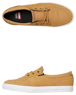 TAN MENS FOOTWEAR GLOBE SKATE SHOES - GBATTIC16054