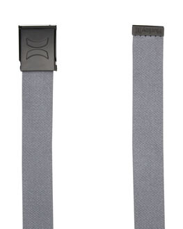 COOL GREY MENS ACCESSORIES HURLEY BELTS - HU0021065
