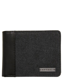 BLACK MENS ACCESSORIES RUSTY WALLETS - WAM0534BK1