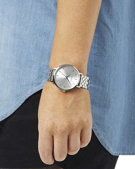 ALL SILVER WOMENS ACCESSORIES NIXON WATCHES - A10901920