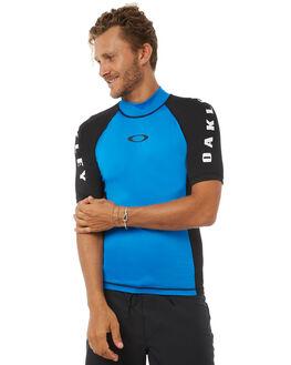 BLUE BLACK SURF RASHVESTS OAKLEY MENS - 482389AU632