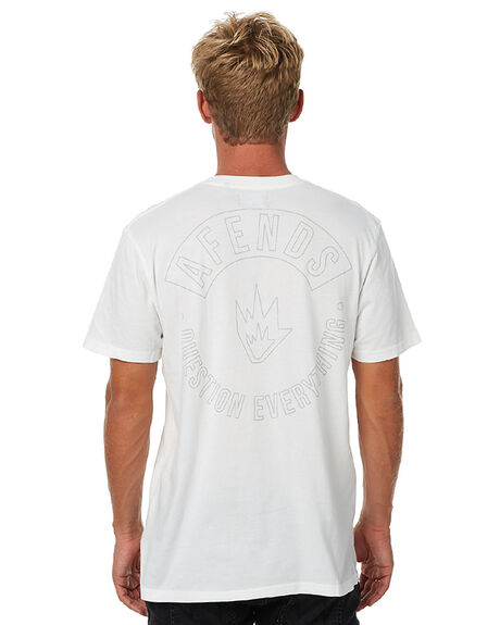 NATURAL MENS CLOTHING AFENDS TEES - 01-01-298NAT