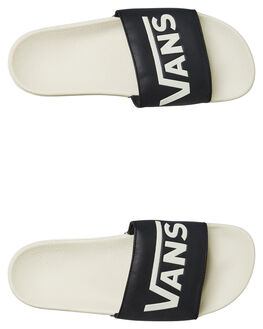 BLACK MENS FOOTWEAR VANS SLIDES - VN004KIU26BLK