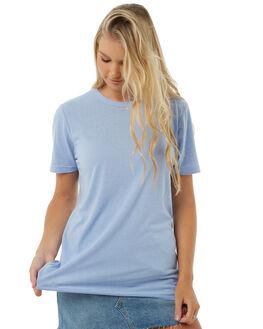 POWDER BLUE WOMENS CLOTHING CAMILLA AND MARC TEES - QCMT6708PBLUE
