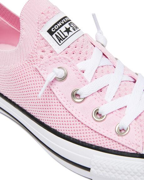 PINK GLAZE WOMENS FOOTWEAR CONVERSE SNEAKERS - 568544CPGLZE