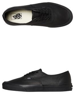 BLACK MENS FOOTWEAR VANS SNEAKERS - VN000JRAL3BBLK