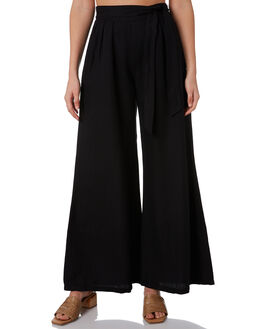 BLACK WOMENS CLOTHING TIGERLILY PANTS - T305386BLK
