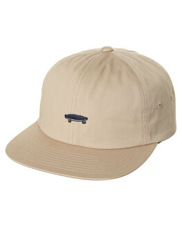KHAKI MENS ACCESSORIES VANS HEADWEAR - VN-0YXKKHKKHA