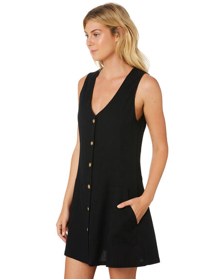 BLACK WOMENS CLOTHING THE HIDDEN WAY DRESSES - H8189444BLACK